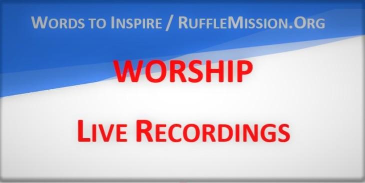 Live Worship Recordings