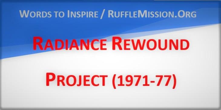 Radiance Rewound Project